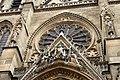Basilique Sainte-Clotilde Paris Gable portail central 26102018.jpg