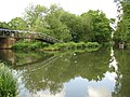 Basingstoke Canal, Junction with the River Wey Navigation - geograph.org.uk - 814044.jpg