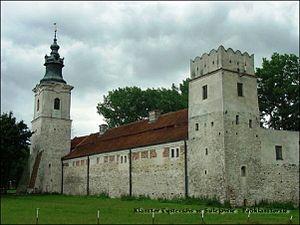 Sulejów Abbey - Image: Basztaattykowaikrako wska