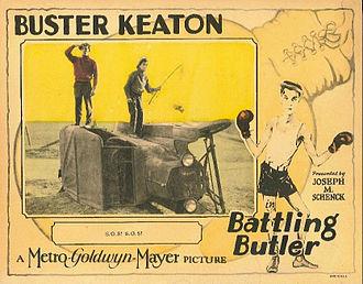 Battling Butler - Lobby card