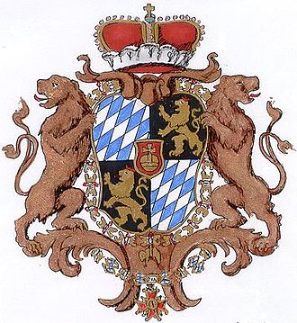 Maximilian III Joseph, Elector of Bavaria - Arms of the Bavarian electorate 1753