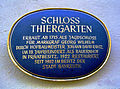 Bayreuth Schloss Thiergarten, Schild, 11.10.07.jpg