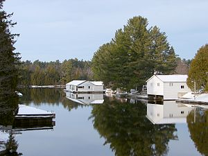 Lake of Bays - Image: Baysville ON