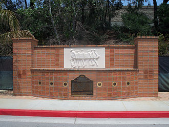 The Beach Boys - The historical landmark in Hawthorne, California, marking where the Wilson family home once stood