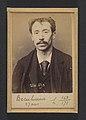 Becu. Lucien. 27 ans, né à la Conté d'Abigny (Pas-de-Calais). Garçon de café. Pas de motif. 22-2-94. MET DP290144.jpg