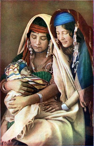 North Africa - Beduin women in Tunisia