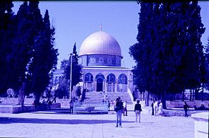 Before conducted dig which done at October 1999 by the Islamic Waqf and the Islamic Movement 07.jpg