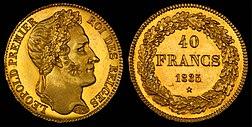 Belgio 1835 40 franchi jpg
