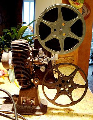 Bell & Howell - Image: Bell & Howell Regent home 8mm film projector