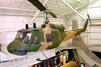20th Special Operations Squadron - Image: Bell UH 1P Iroquois USAF