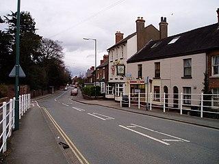 Belle Vue, Shrewsbury Suburb of the town of Shrewsbury, Shropshire