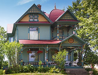 National Register of Historic Places listings in Branch County, Michigan - Image: Benedict Doll House