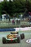 Benetton B193B and Minardi M193 1993 Silverstone.jpg