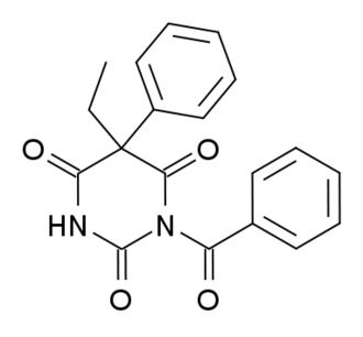 Benzobarbital - Image: Benzobarbital