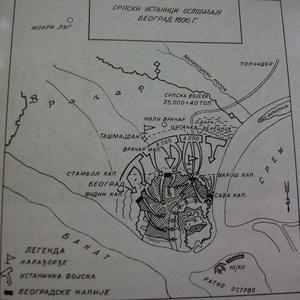 Siege of Belgrade (1806) - Image: Beograd 1806