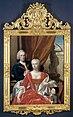 Berend van Iddekinge (1717-1801) met zijn echtgenote Johanna Maria Sichterman (1726-56) en hun zoontje Jan Albert (geb 1744) Rijksmuseum SK-A-1778.jpg