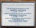 Berliner Gedenktafel Wannseebadweg 25 (Nikol) Wagner Ermisch.jpg