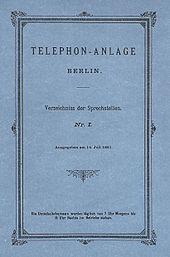 Telefonbuch – Wikipedia