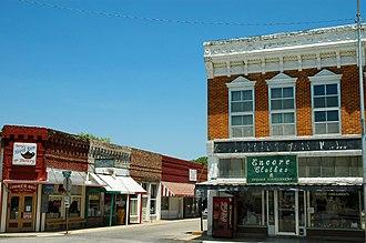 Berryville, Arkansas - Berryville Town Square (2006)
