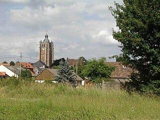 Bersée Commune in Hauts-de-France, France