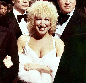 Bette Midler - Midler at the premiere of her feature-film starring debut, The Rose, in 1979.