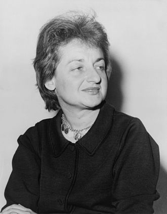 Betty Friedan - Image: Betty Friedan 1960