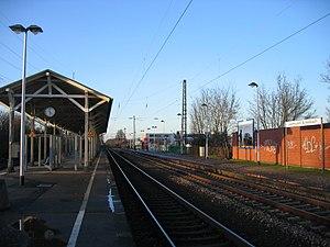 DB Schlebusch station in Manfort