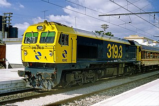 class of 108 Spanish diesel-electric locomotives