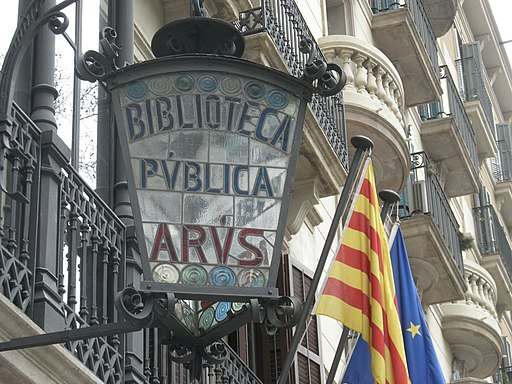 Biblioteca Arús (Barcelona, Catalonia) - panoramio