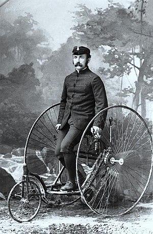 Montreal AAA - Mr. McLeod, Bicycle Club, Montreal, QC, 1885