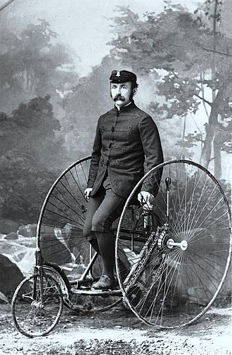 Montreal AAA - Mr. McLeod, Bicycle Club, Montreal, QC, 1885