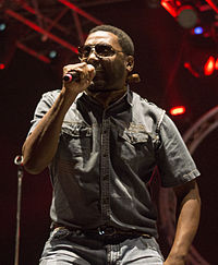 Big Daddy Kane beim Hip Hop Kemp 2013