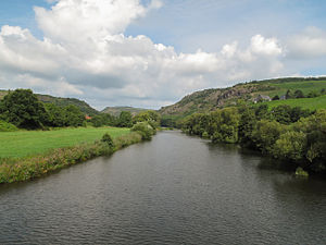 Nahe (river) - Near Oberhausen an der Nahe