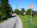 Bild 21 - Verbot der Überschreitung bestimmter Fahrgeschwindigkeiten, hier 30 km; StVO 1956.png
