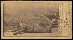 Bill Greenwood (baseball) - Image: Bill Greenwood (1888 baseball card)