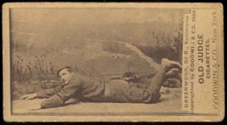 Bill Greenwood (baseball) - Image: Bill Greenwood (1888 baseball card)