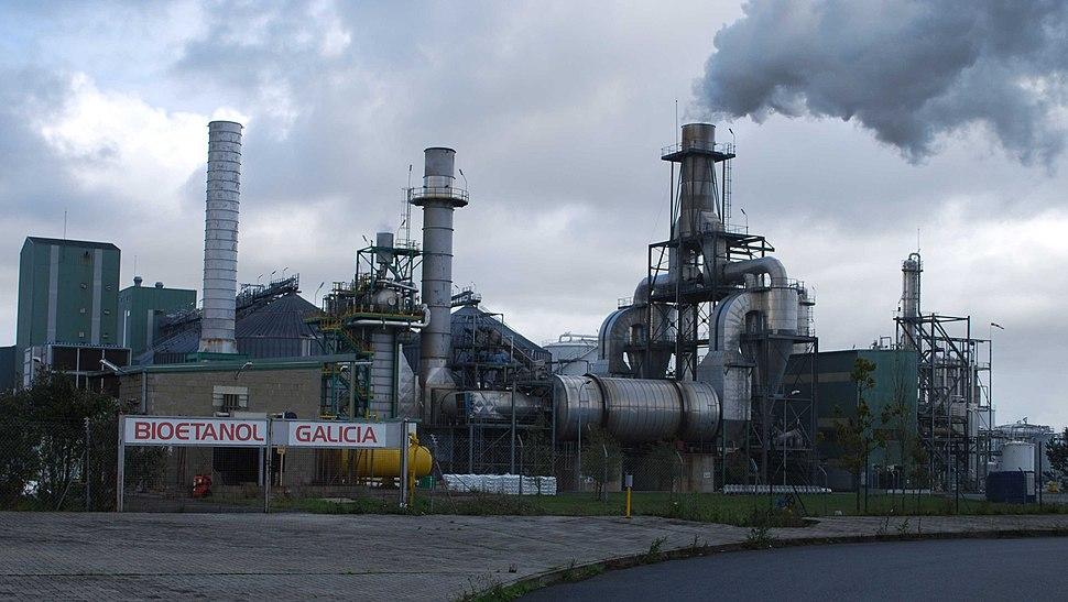 Bioetanol Galicia Teixeiro-Curtis A Coruña