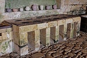 Château de Biron - The castle kitchens