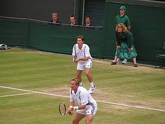 Todd Woodbridge - Björkman and Woodbridge at Wimbledon 2004