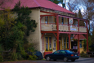 "Blackball, New Zealand - The hotel known as ""Formerly the Blackball Hilton"""