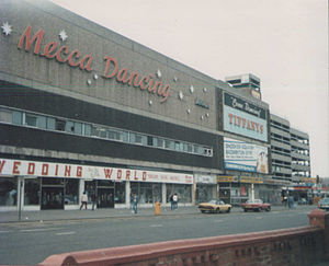 Blackpool Mecca - Exterior of the Mecca Complex, early 1980s