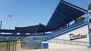 Blair Field - Image: Blair Field Grandstand (Long Beach, California)
