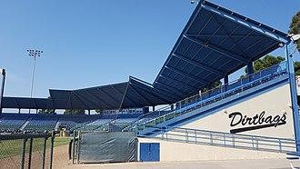 Blair Field - Image: Blair Field Grandstand (Long Beach, California)