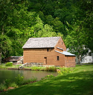 National Register of Historic Places listings in Lewis County, West Virginia - Image: Blaker's Mill