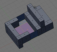 Blender3d Method 2 extrude down bed and doors s2.jpg