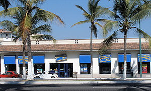 A Blockbuster Video rental shop in the city of...
