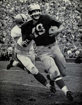 Bob Ptacek - Ptacek in 1958 against Illinois