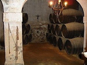 Brandy - Brandy de Jerez in barrels aging