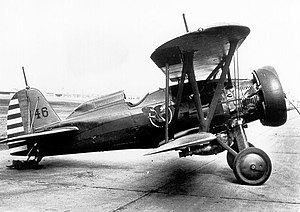 27th Fighter Squadron - Boeing P-12E 32-46, 27th Fighter Squadron, about 1933