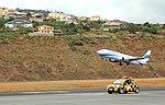 Boeing 737 ES-ENH Madeira Funchal airport 2016 2.jpg